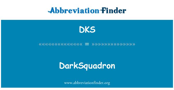 DKS: DarkSquadron