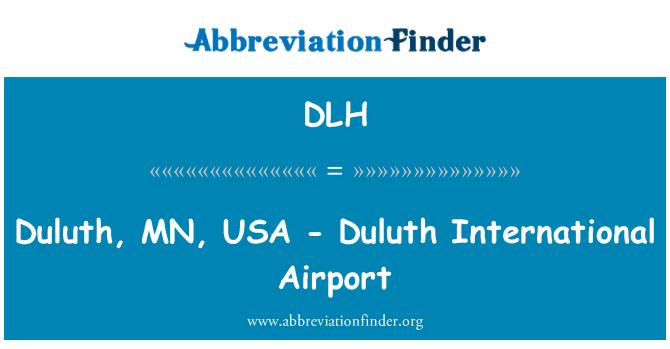 DLH: Duluth, MN, USA - Duluth International Airport