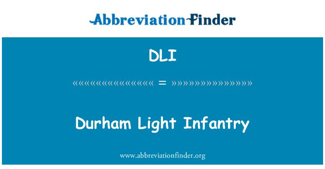 DLI: Durham Light Infantry