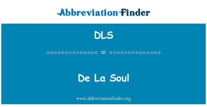 DLS: De La Soul