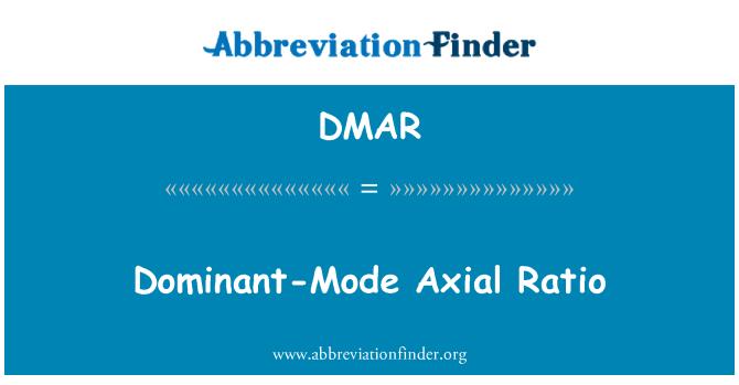 DMAR: Valitsev režiim teljesuunaline suhe