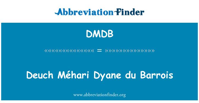 DMDB: Deuch Méhari Dyane du Barrois