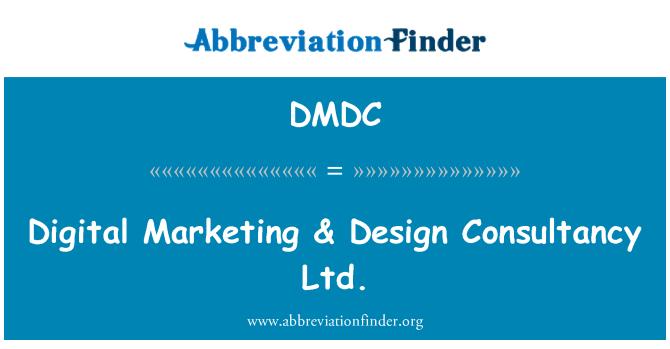 DMDC: Marketing Digital & Design Consultancy Ltd.