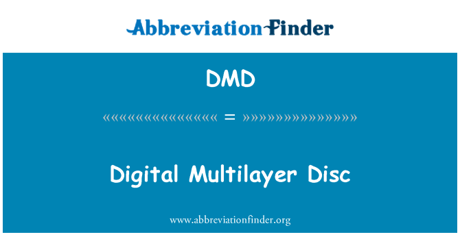 DMD: Digital Multilayer Disc