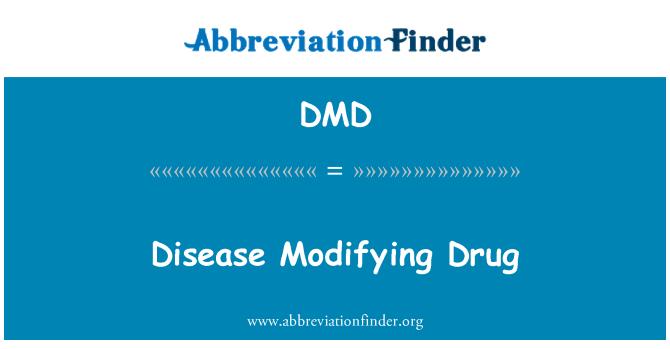 DMD: Disease Modifying Drug