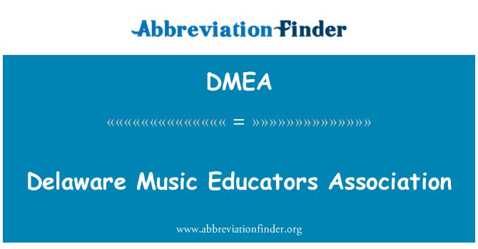 DMEA: Delaware muusika haridustöötajate Liit