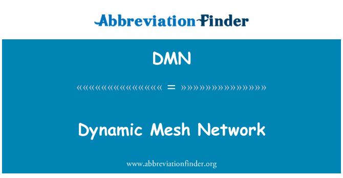 DMN: Dynamic Mesh Network