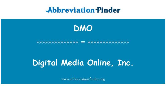 DMO: Digital Media Online, Inc.