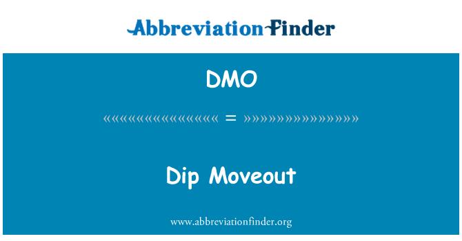 DMO: Dip Moveout