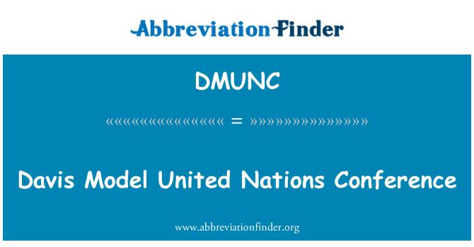 DMUNC: Davis Model United Nations Conference