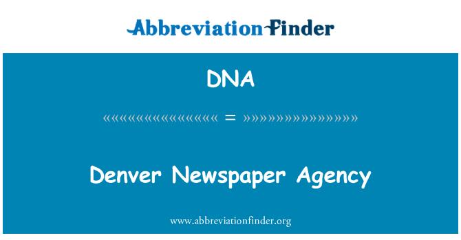 DNA: Denver Newspaper Agency