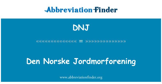 DNJ: Den Norske Jordmorforening