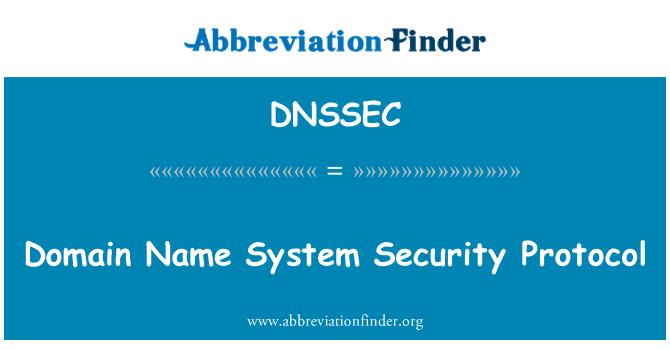 DNSSEC: Etki alanı adı sistemi güvenlik protokolü