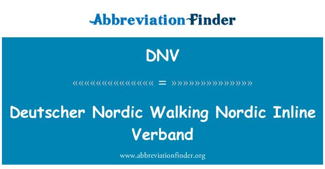 DNV: Deutscher Nordic Walking Nordic Inline Verband