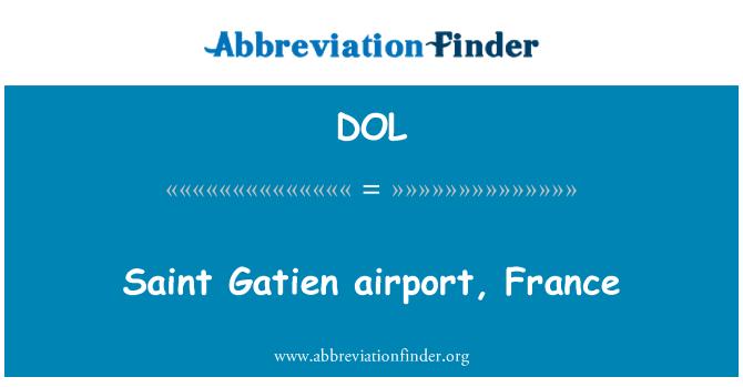 DOL: Saint Gatien airport, France