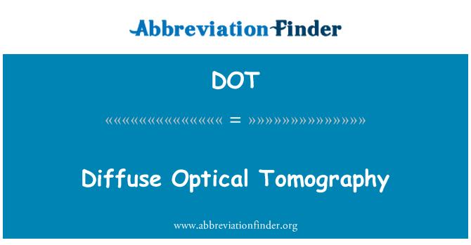 DOT: Diffuse Optical Tomography