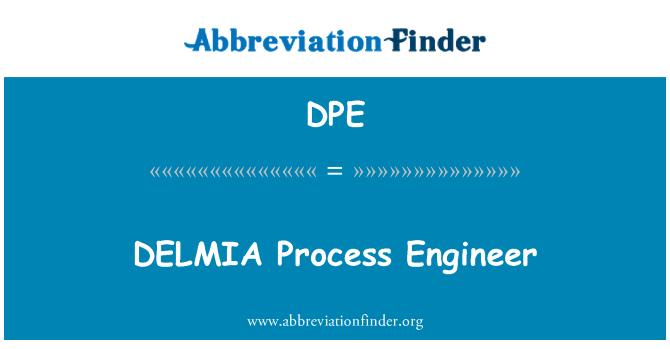 DPE: DELMIA Process Engineer