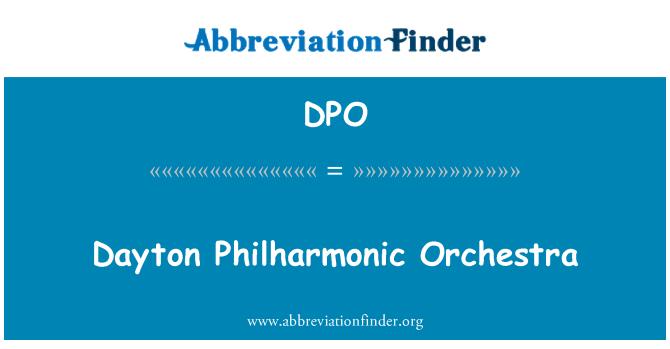DPO: Dayton Philharmonic Orchestra