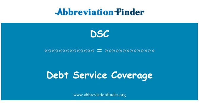 DSC: Debt Service Coverage