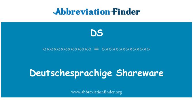 DS: Deutschesprachige Shareware