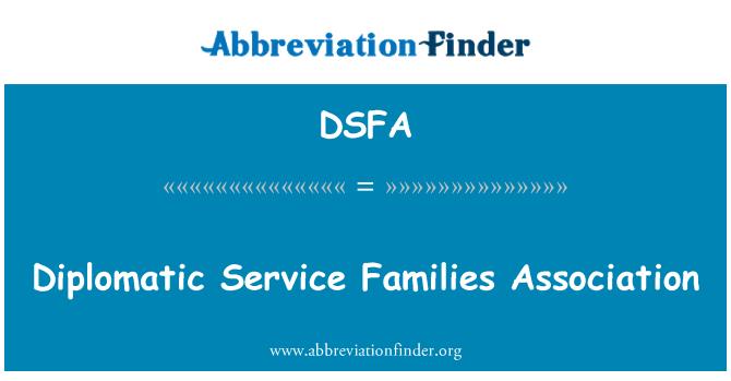 DSFA: Diplomatic Service Families Association