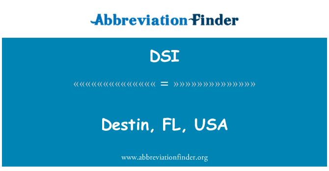 DSI: Destin, FL, USA