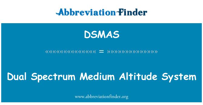 DSMAS: Dual Spectrum Medium Altitude System
