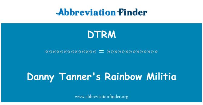 DTRM: Danny Tanner's Rainbow Militia