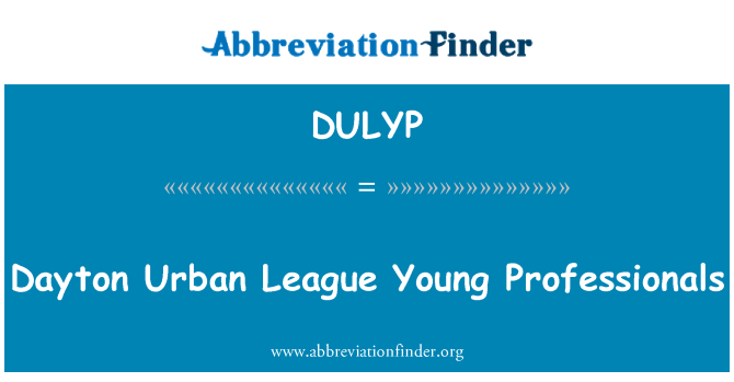 DULYP: Dayton Urban League Young Professionals