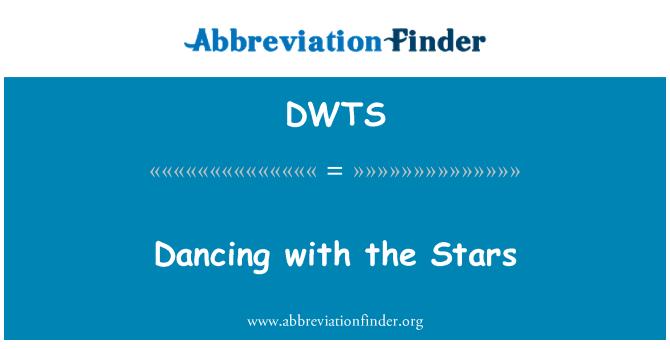 DWTS: Menari dengan bintang-bintang