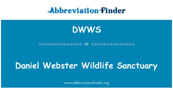 DWWS: Daniel Webster Wildlife Sanctuary