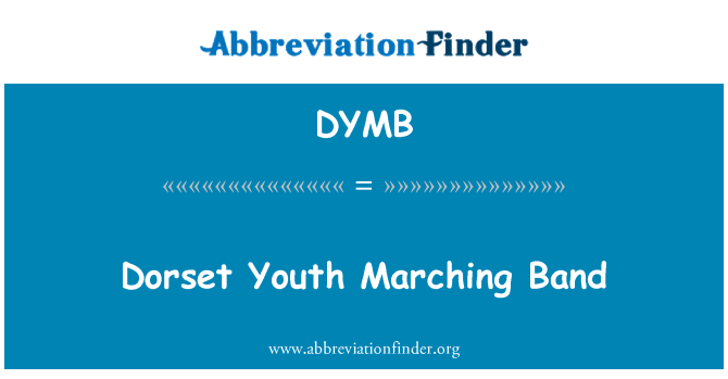 DYMB: Dorset Youth Marching Band