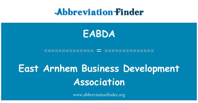 EABDA: East Arnhem Business Development Association