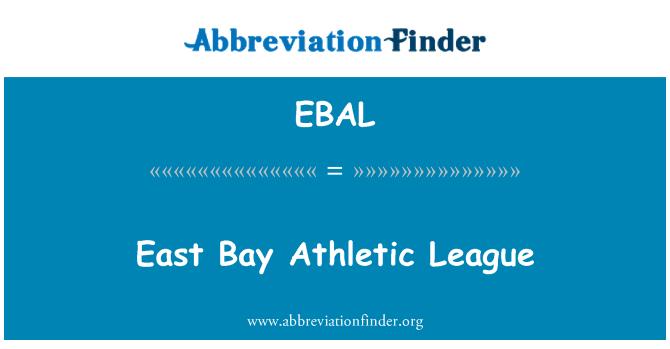 EBAL: East Bay Athletic League