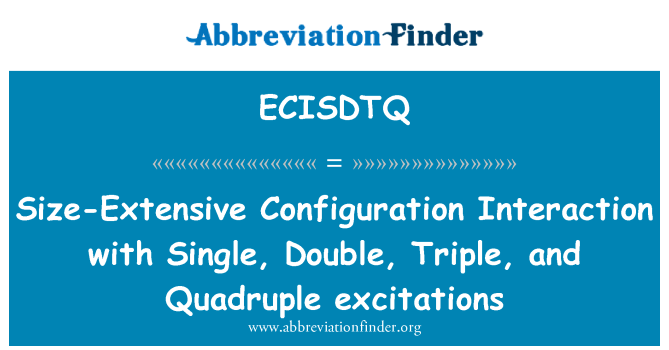 ECISDTQ: Size-Extensive Configuration Interaction with Single, Double, Triple, and Quadruple excitations
