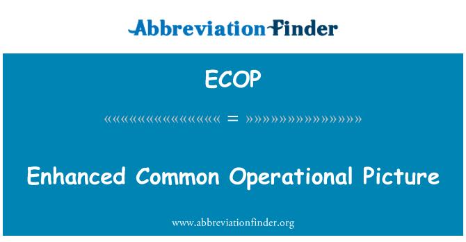 ECOP: درجہ افزوں عام آپریشنل تصویر