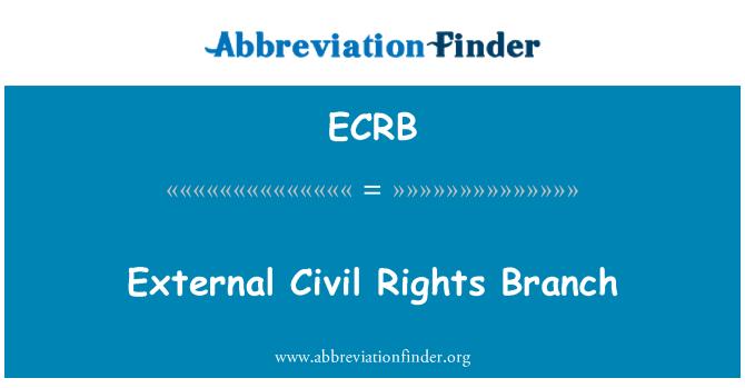 ECRB: Cawangan luar hak-hak sivil