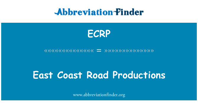 ECRP: East Coast Road Productions