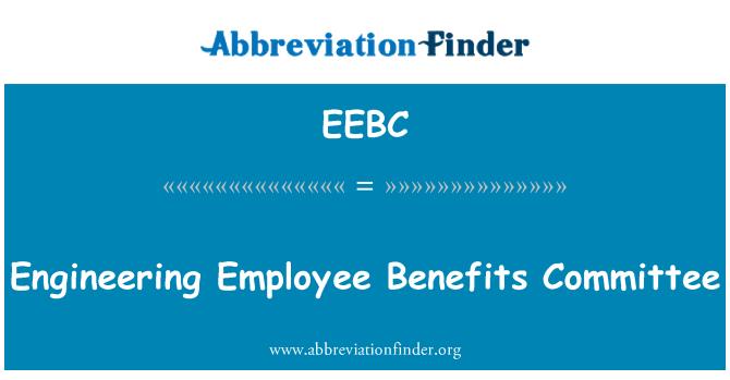 EEBC: Engineering Employee Benefits Committee