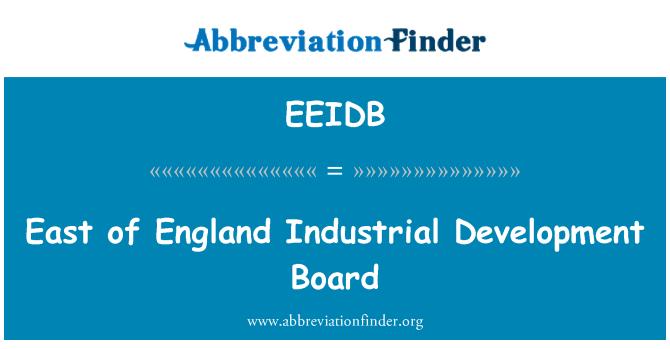 EEIDB: East of England Industrial Development Board