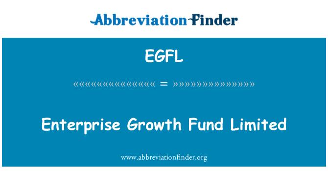 EGFL: Enterprise Growth Fund Limited