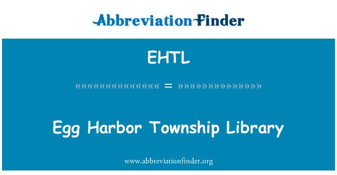 EHTL: Egg Harbor Township Library