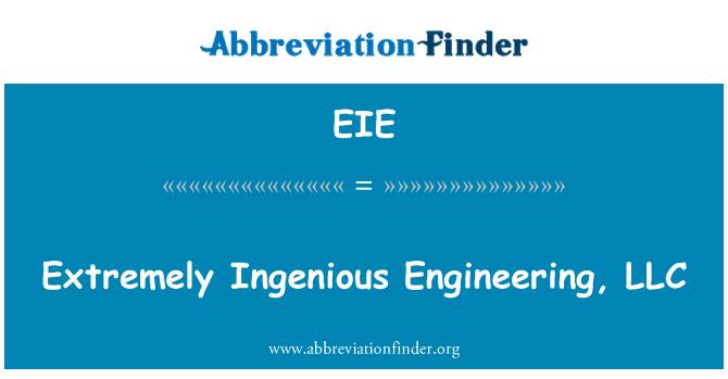 EIE: Extremely Ingenious Engineering, LLC