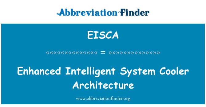EISCA: Enhanced Intelligent System Cooler Architecture