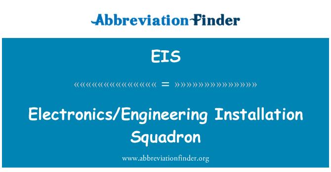 EIS: Electronics/Engineering Installation Squadron