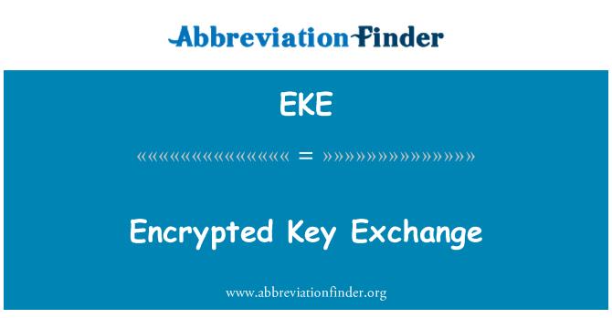 EKE: Encrypted Key Exchange