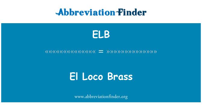 ELB: El Loco Brass