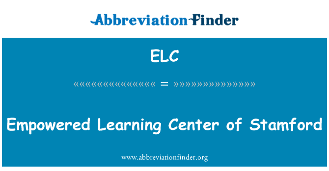 ELC: Empowered Learning Center of Stamford