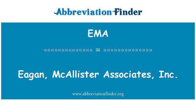 EMA: Eagan, McAllister Associates, Inc.