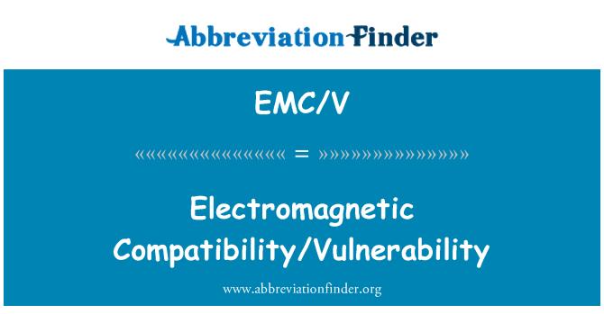 EMC/V: Elektromagnetska kompatibilnost/ranjivost